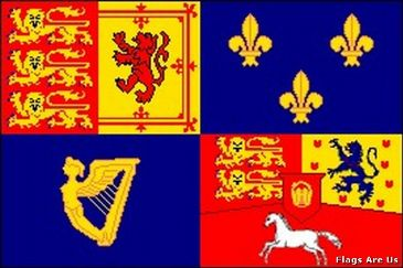 House Of Hanover Royal Banner 1714 - 1800